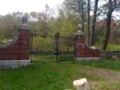 "The ""Gates of Hell,"" Maudslay State Park, Newburyport, Mass. Photo Credit: Rebecca Brooks"