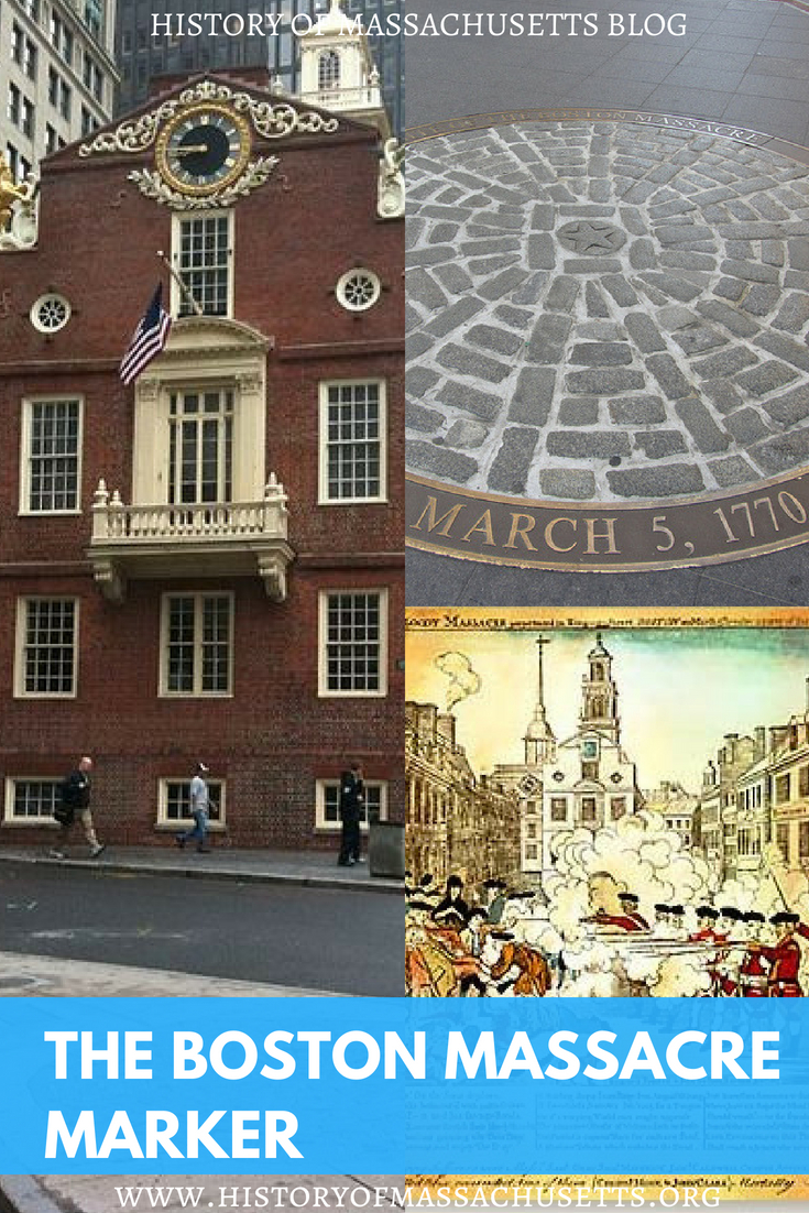 The Boston Massacre Marker