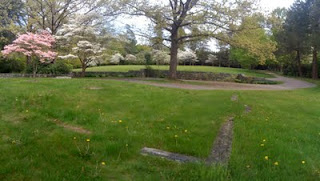 Site of Helen Moseley's house, Maudslay State Park, Newburyport, Mass. Photo Credit: Rebecca Brooks