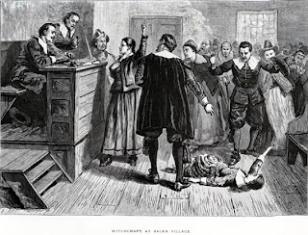 Salem witch 1692