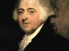 John Adams, oil painting by Gilbert Stuart, circa 1800-1815
