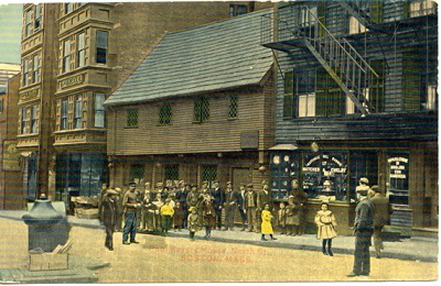 Paul Revere House, Boston, Mass, circa 1908