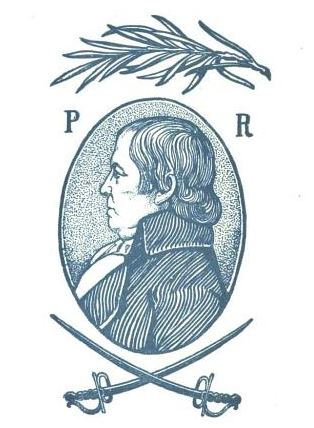 "Illustration of Paul Revere, published in ""An Outline of the Life and Work of Col. Paul Revere,"" circa 1901"