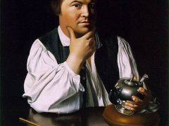 Portrait of Paul Revere by J.S. Copley, circa 1768