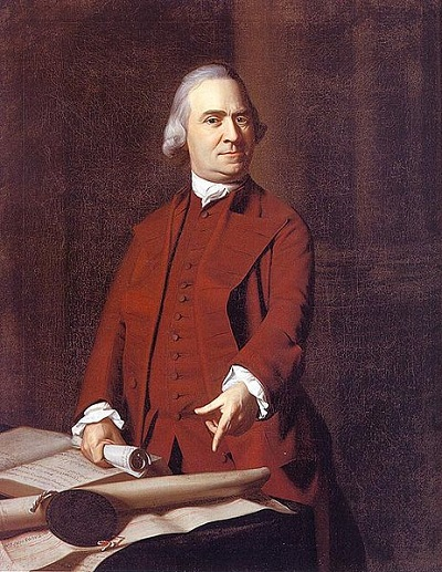 Samuel Adams, oil painting, by John Singleton Copley circa 1772