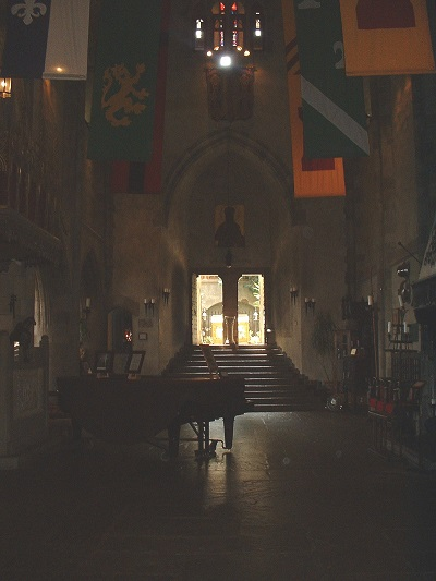 Great Hall, Hammond Castle, Gloucester, Mass. Photo Credit: Rebecca Brooks