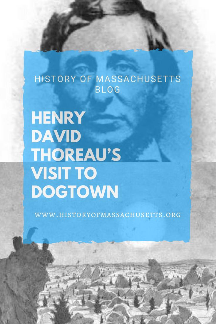 Henry David Thoreau's Visit to Dogtown