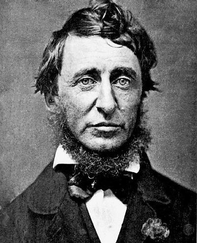 Henry David Thoreau circa 1856