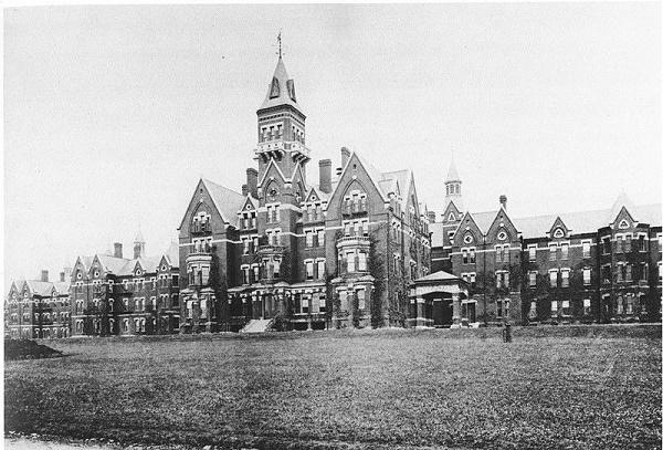 Danvers State Hospital Kirkbride Complex circa 1893