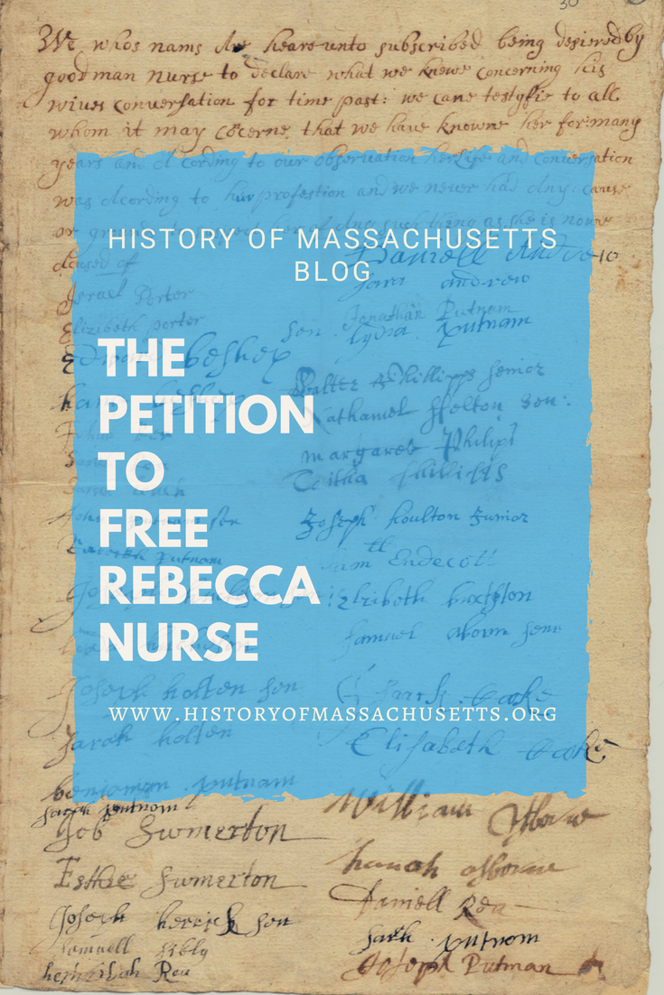 The Petition to Free Rebecca Nurse