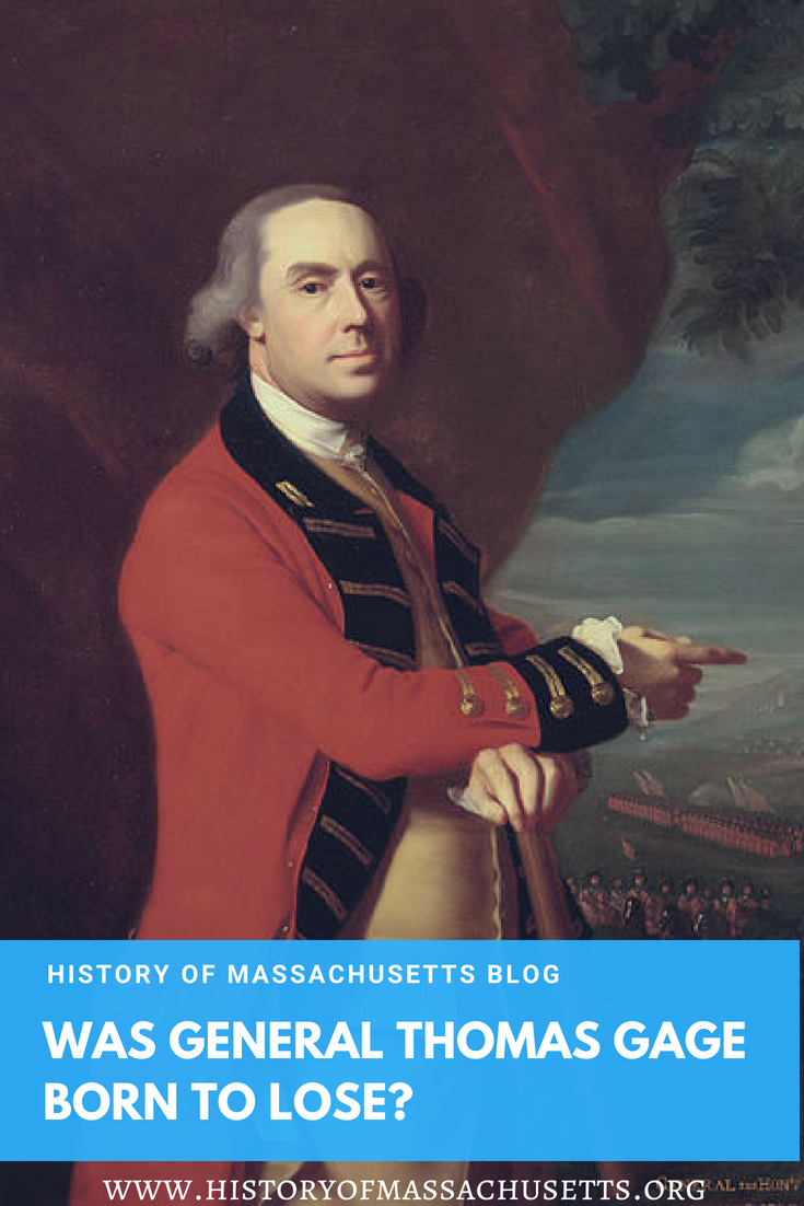 Was General Thomas Gage Born to Lose