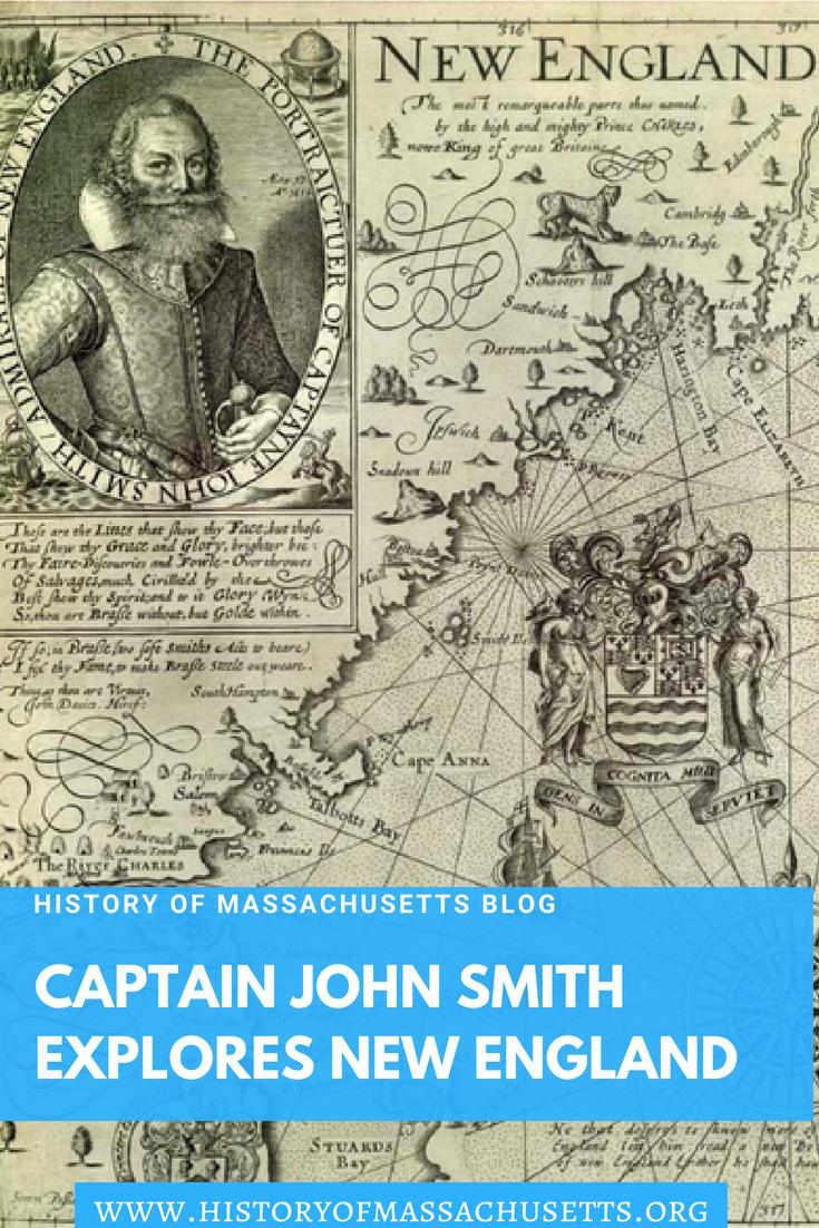 Captain John Smith Explores New England