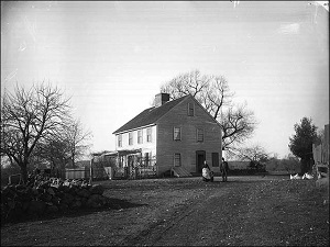 House of Thomas Putnam and daughter Ann Putnam Jr in Danvers Ma circa 1891
