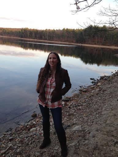Rebecca Brooks, Walden Pond, Nov 2015