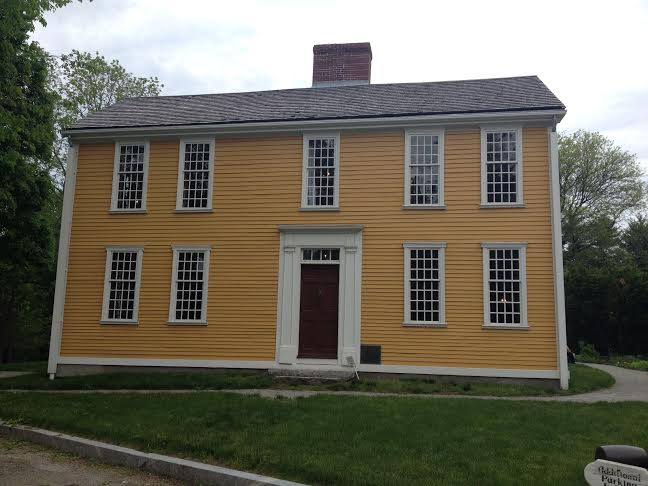 Hancock-Clarke House, Lexington, Mass, in 2014. Photo Credit: Rebecca Brooks