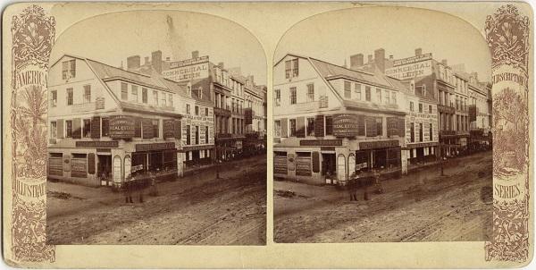 Old Corner Bookstore, Boston, Ma, circa 19th century
