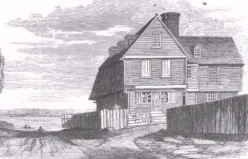 Philip English's mansion, illustration published in The Ships and Sailors of Old Salem, circa 1905