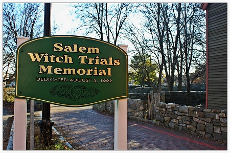 Salem Witch Trials Memorial, Salem, Mass