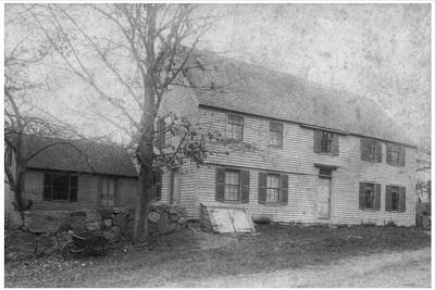 Sarah Osborne House, Danvers, Mass, circa 19th century