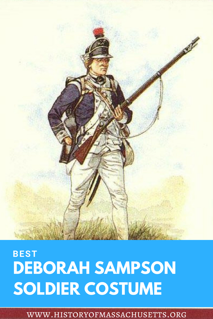 Deborah Sampson Soldier Costume