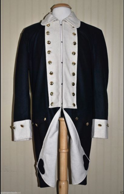 Replica Revolutionary War Uniform jacket