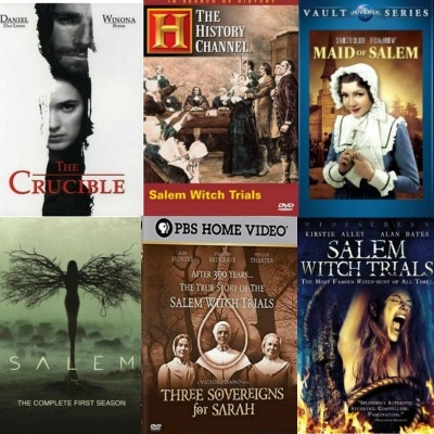 Salem Witch Trials Movies & T.V. Shows