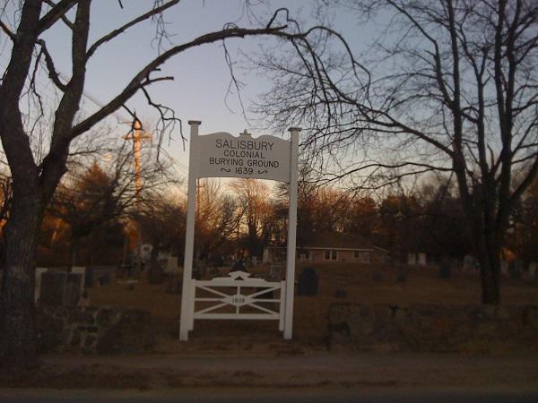 Salisbury Colonial Burial Ground, Salisbury, Mass. Photo Credit: Rebecca Brooks