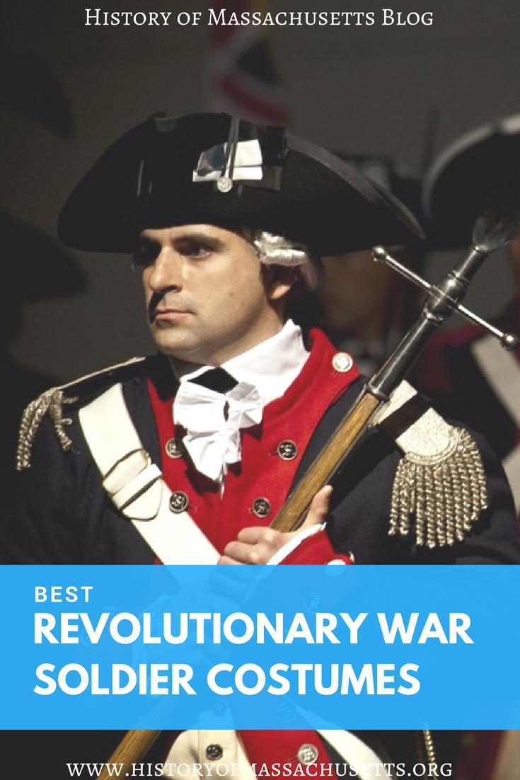 Best Revolutionary War Soldier Costumes
