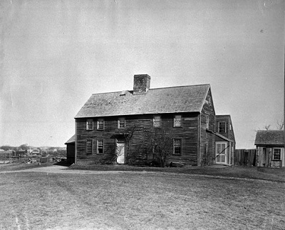 George Jacobs House, Danvers, Mass, photographed by Frank Cousins, circa 1891