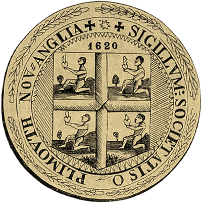 Plymouth Colony seal circa 1629