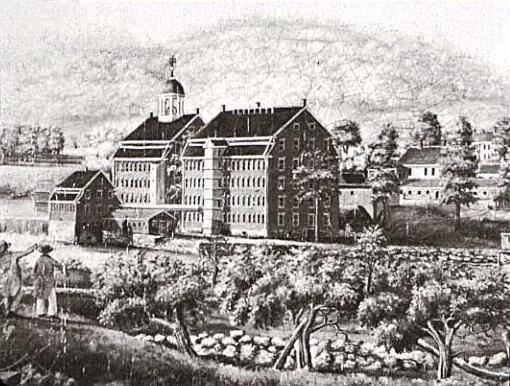Boston Manufacturing Company, 1813-1816, Waltham, Ma,