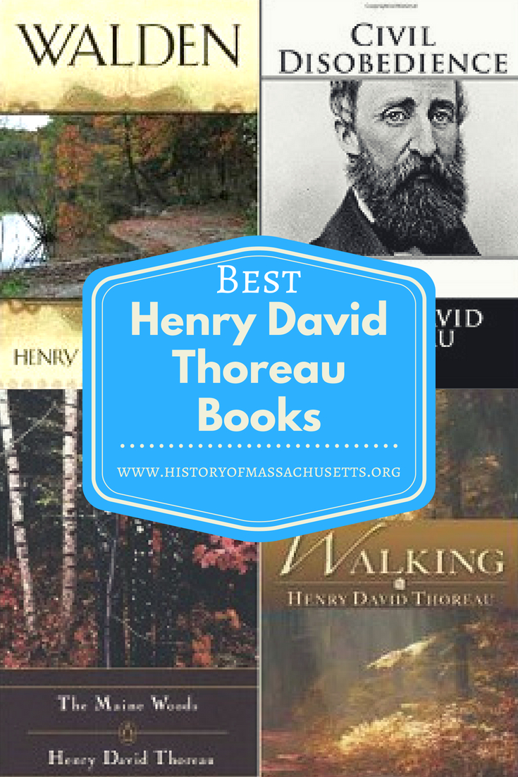 Best Henry David Thoreau Books
