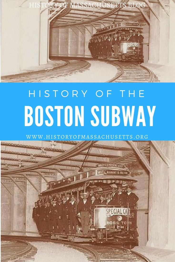 History of Boston Subway