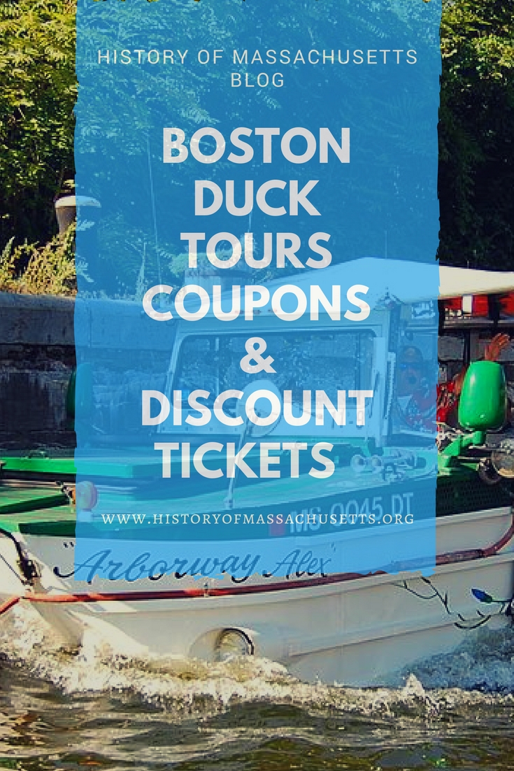 Boston Duck Tours Coupons & Discount Tickets
