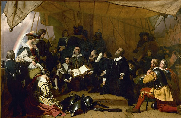 when they settled in the new world the puritans