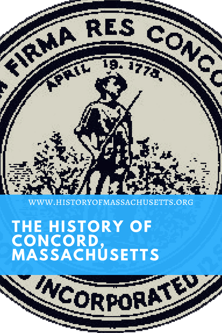 History of Concord Massachusetts