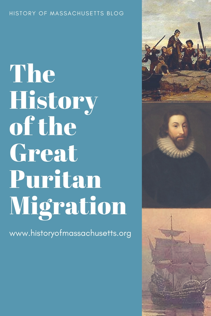 History of the Great Puritan Migration