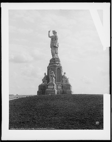 Monument to the Forefathers, Plymouth, Mass, circa 1900