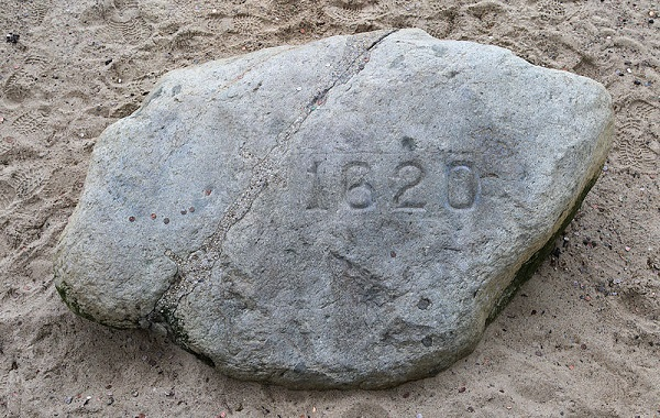 Plymouth Rock, Plymouth, Mass