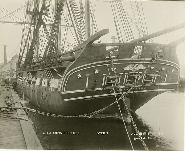 Construction Of The Uss Constitution History Of Massachusetts Blog