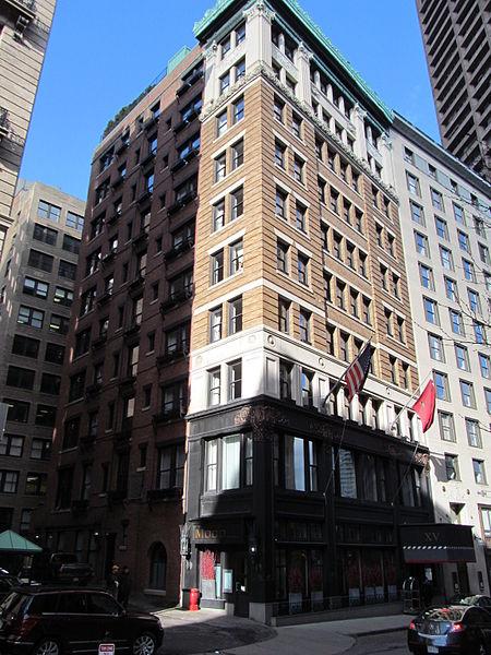 XV Beacon Hotel, former Boston Transit Commission Building, photographed by John Phelan, circa 2012
