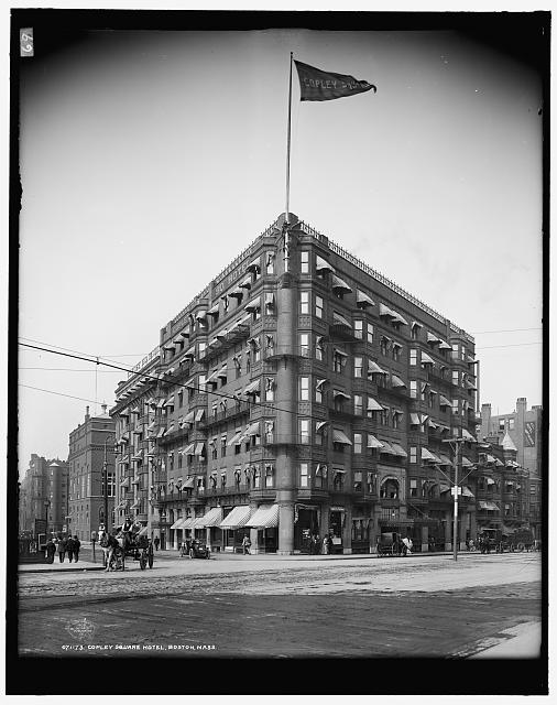 Copley Square Hotel, Boston, Mass, circa 1909