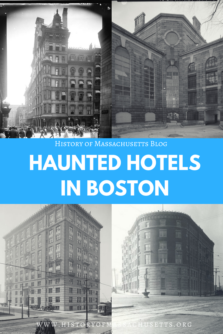 Haunted Hotels in Boston