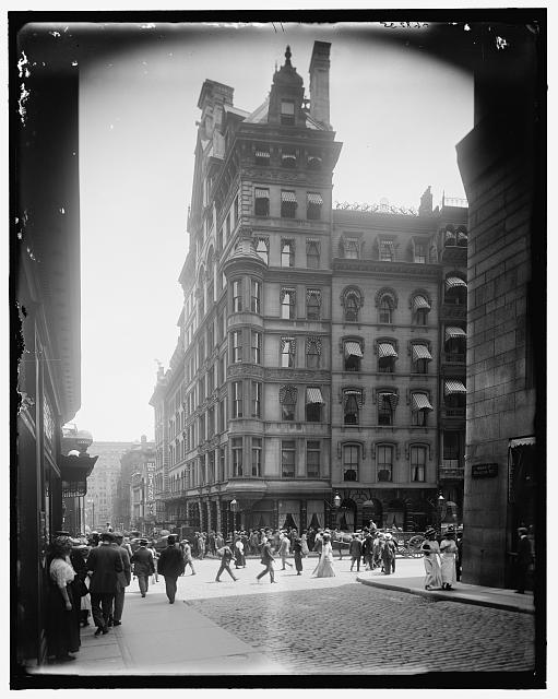 The Parker House, Boston, Mass, circa 1900
