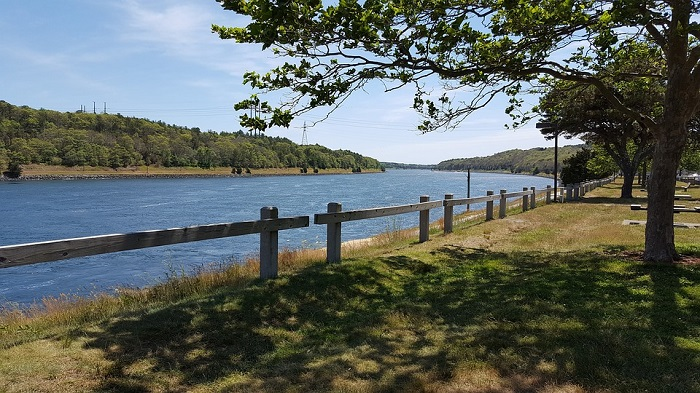 Cape Cod Canal in Massachusetts