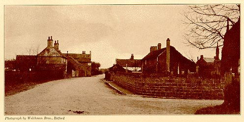 Scrooby Village, England, photo published in Albert Addison's book, The Romantic Story of the Mayflower Pilgrims, circa 1911