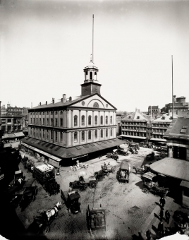 Faneuil Hall in 1920