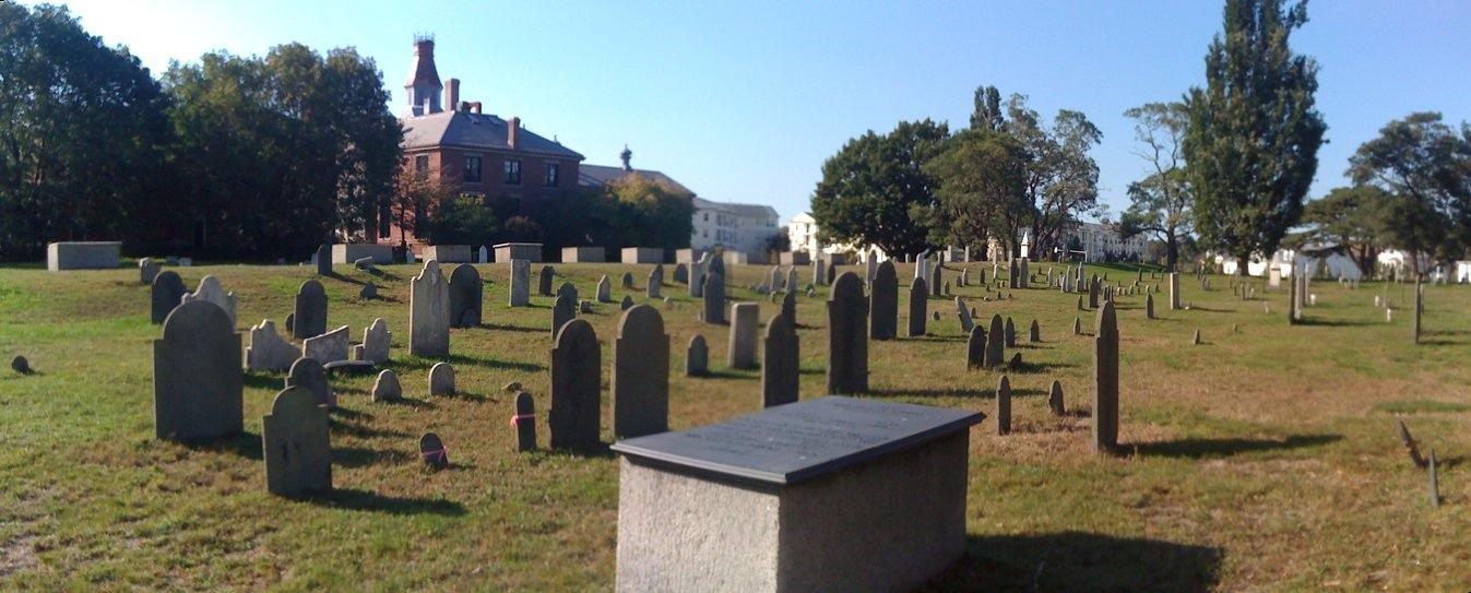 Howard Street Cemetery in Salem
