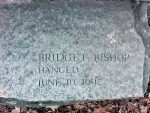 Salem Witch Trials Memorial - Bridget Bishop