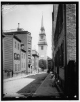 Old North Church in Boston in 1890